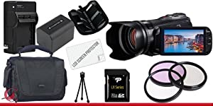 Canon 32GB VIXIA HF G20 Full HD Camcorder 32GB Package