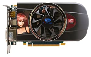 Sapphire Radeon HD 5770 1 GB DDR5 2DVI/HDMI/DisplayPort PCI-Express Video Card 100283-3L