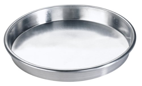 Browne Foodservice 5730070 Thermalloy Aluminum Deep Dish Pizza Pan, 10-Inch