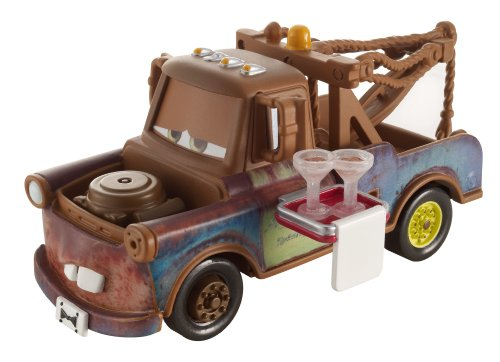 Disney Pixar Cars, Wheel Well Motel Die-Cast, Deluxe Waiter Mater #11/11, 1:55 Scale