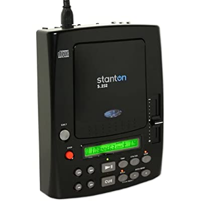 Amazon.com: NEW STANTON S.252 TABLETOP CD PLAYER/PITCH CONTROL S252