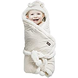 Baby Receiving Blanket - Organic Un-Dyed Cotton Swaddle Wrap Blanket