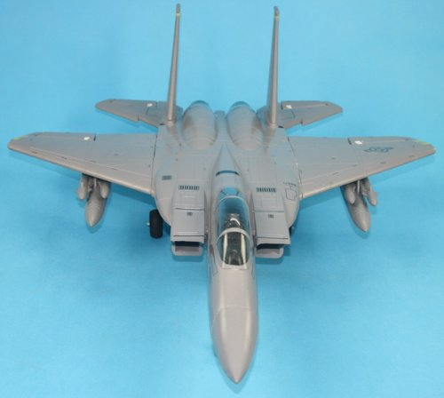ラジコンジェット(JET)戦闘機★オリジナル日本語送信機マニュアル付★4ch電動ラジコン F15イーグル戦闘機(グレー) 2.4GHzフルセット