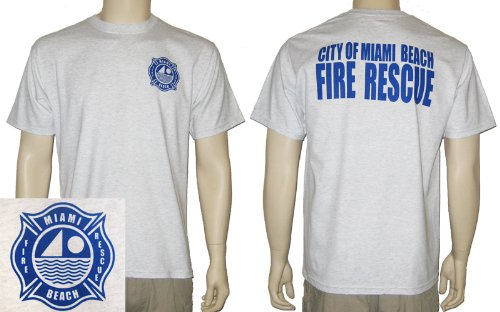 Miami Beach Fire Rescue Duty T-Shirt