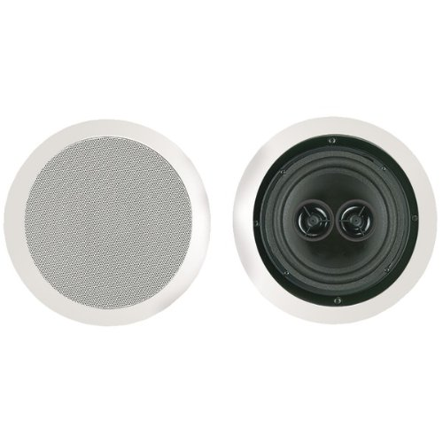 Bic America Msr6D 6.5 Inch Dual Voice Coil Stereo Ceiling Speaker -By-Bic America