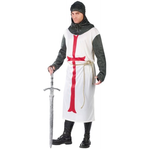 Templar Knight Costume - Standard - Chest Size 33-45