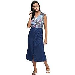 Grain Women's Denim A-line Dress