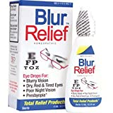Trp Company Blur Relief Homeopathic Eye Drops For Blurry And Poor Niht Vision - 0.5 Oz (15 Ml), 3 Pack