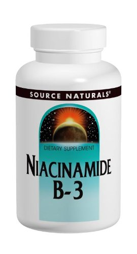 Source Naturals Niacinamide Vitamin B-3 100Mg, 250 Tablets