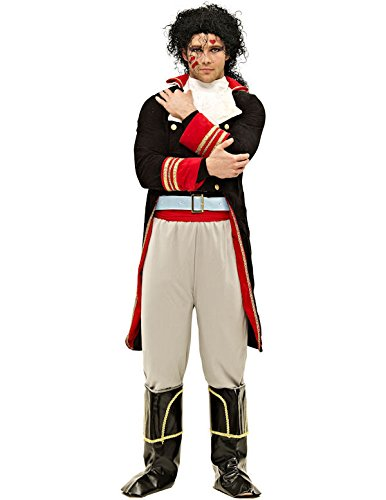 Deluxe Prince Charming Adam Ant 1980s Costume for Men
