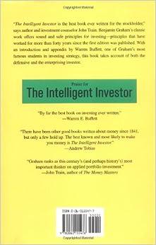 The Intelligent Investor: A Book of Practical Counsel: Benjamin Graham, Warren E. Buffett: 9780060155476: Amazon.com: Books