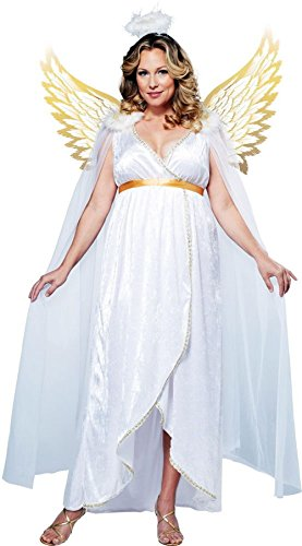 Generic Women's Guardian Angel Womens Costume
