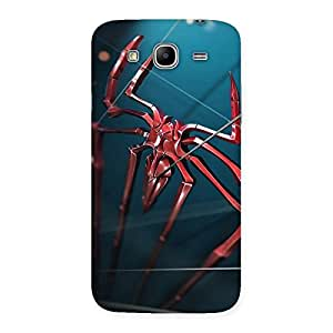 Gorgeous Climbing Spider Multicolor Back Case Cover for Galaxy Mega 5.8