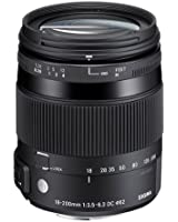 Sigma Objectif Macro 18-200 mm F 3,5-6,3 DC OS HSM CONTEMPORARY - Monture Canon