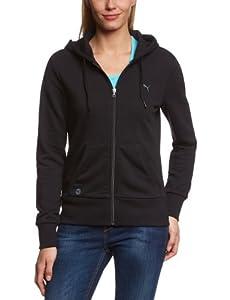 Puma Sweat zippé Femme Noir FR : 36 (Taille Fabricant : XS)