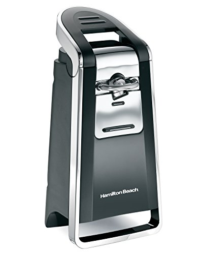 Hamilton Beach 76606ZA Smooth Touch Can Opener, Black and Chrome (Easy Open Can Opener compare prices)