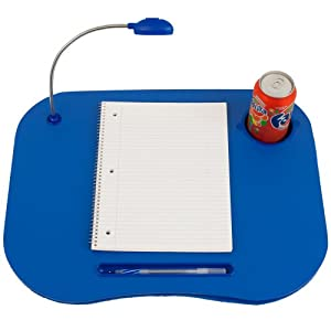 Laptop Buddy Laptop Desk and Cup Holder - Blue (72-698006) from Laptop Buddy