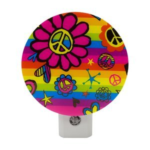 Ge Peace And Flower Led Night Light 11497