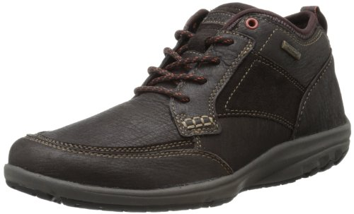 Rockport Men's Adventure Ready Mudguard Boot,Dark Brown,10.5 M US