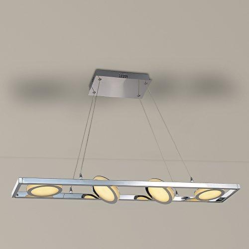 JDONG-LED-Deckenstrahler-Spotleiste-Lichtschiene-4-schwenkbare-Spots-24W-in-moderner-Optik-Deckenleuchte-Deckenlampe-silber