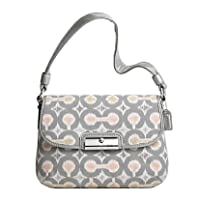 Coach 45376 Signature Op Art Ikat Tote