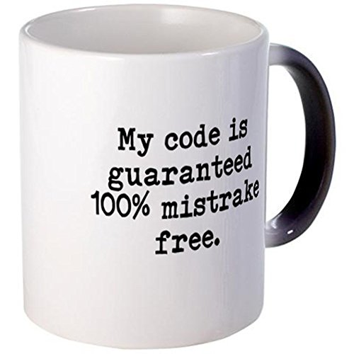 CafePress - Funny Programmer Or Developer Misquote - Unique Coffee Mug, 11oz Coffee Cup