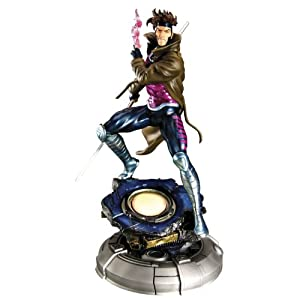 Marvel X-Men Gambit Danger Room Sessions Fine Art Statue