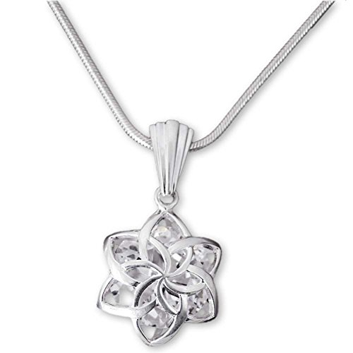 Il Signore degli Anelli - Galadriel - Ciondolo Nenya fiore in argento