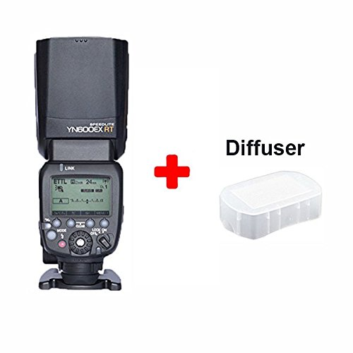 YongNuo Flash Speedlite YN-600EX-RT for Canon AS Canon 600EX-RT With Diffuser