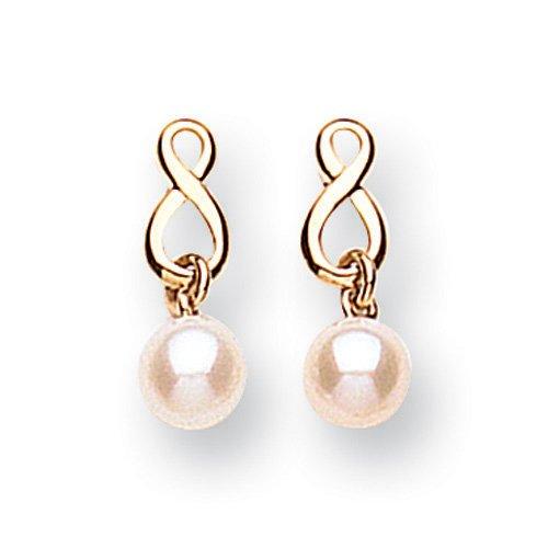 9ct Gold Freshwater Pearl Earrings