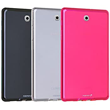 Fosmon [DURA FROST] Smooth Durable & Flexible SLIM-Fit Cover for Samsung Galaxy Tab S2 8.0