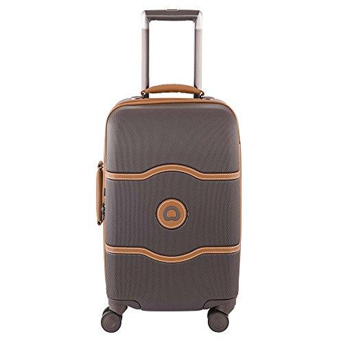 delsey-paris-chatelet-hard-bagage-cabine-55-cm-48-l-chocolat