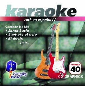 KBO-40 xitos De Rock En Espa??ol Iv(Karaoke) by La Ley, Hombres G, Nacha Pop, Vini Vidy Vichy, Miguel R??os, Hombres G, Vilma Palma E Vampiros, Hombres G, La Uni??n, Hombres G, H'roes Del Silencio Hombres G (2012-02-28)