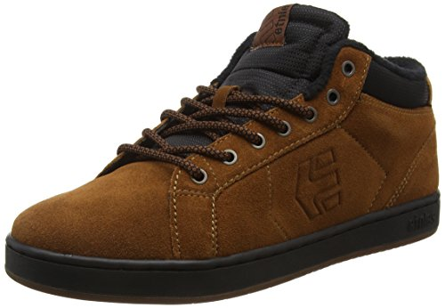 Etnies Men's Fader Mt Skateboarding Shoe, Brown/Black/Gum, 10 M US
