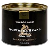 Squirrel Brand Nuts, Creme Brûlée Almonds, *EXTRA LARGE* 28oz Can