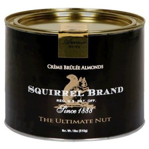 Squirrel Brand Nuts, Creme Brûlée Almonds,