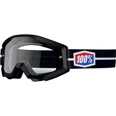 100% Strata Goggles - One size fits most/Black Suit