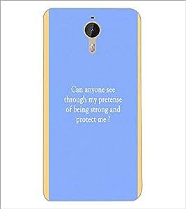 PrintDhaba Quote D-4444 Back Case Cover for LETV (LE ECO) LE 1 PRO (Multi-Coloured)