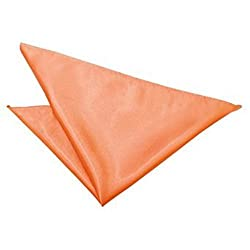 Romano Plain Satin Handkerchief / Pocket Square - Over 30 Colours to Choose From