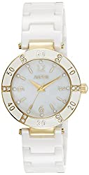 Aspen Ceramic Analog White Dial Womens Watch - AP1790