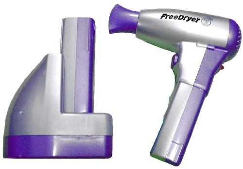 cordless hair dryer. image #1 of cordless rechargeable hairdryer hair dryer