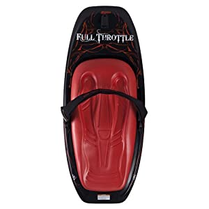 Buy Full Throttle Power Platform Kneeboard (Red Black, 53.1 x 21.6-Inch 135 cm x 55 cm) by Absolute Outdoor
