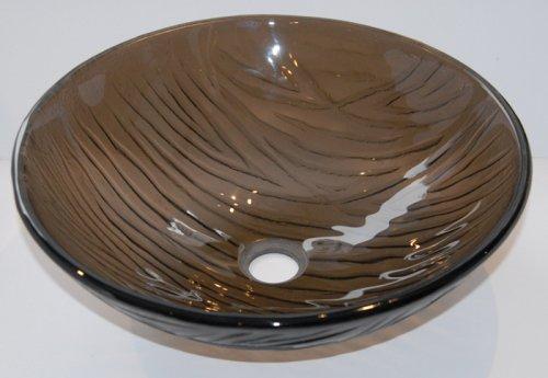 Buy Glass Vessel Bathroom Sink with Mounting Ring and Drain#6153 (Ella's Sinks, Plumbing, Sinks, Bathroom, Consoles)