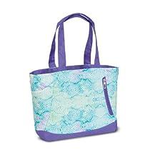 High Sierra Shelby Tote, Snake Dye Lilac/Purple, 16x14x5-Inch