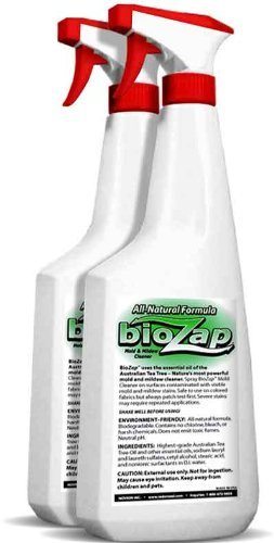 Biozap Mold And Mildew Cleaner (2X 22-Oz. Bottles)