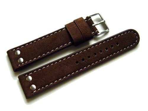 orig-watchband-berlin-uhrenarmband-wasserbuffel-2-nieten-dunkelbraun-22mm