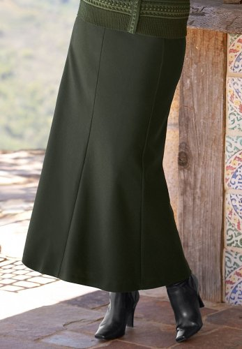 Buy A-Line Wool Skirt
