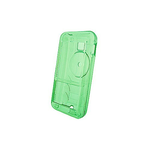 Creative Zen Mozaic MP3 Player Accessory - Green Crystal Hard Case Cover with Belt Clip