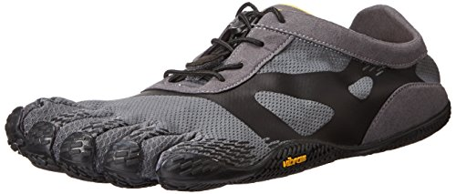Vibram Five Fingers Kso Evo - Scarpe Sportive Outdoor Uomo, colore Grigio (Grey/Black), taglia 45