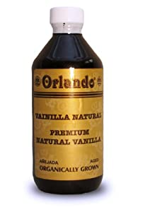 Pure Organic Mexican Vanilla (Amber Colored) (8 fl. oz.)